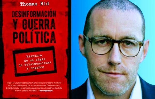 """Libro """"Desinformación y guerra política"""" narra un siglo de falsificaciones y engaños políticos"""