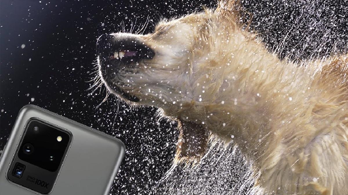 Samsung Galaxy S20 Slomo