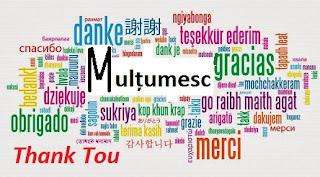 """11 ianuarie: Ziua Internațională """"Îți Mulțumesc"""""""