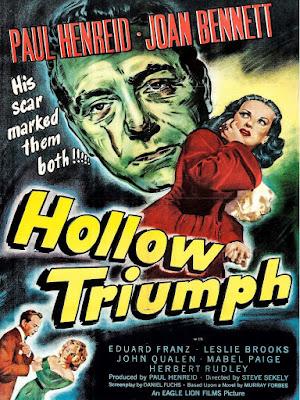 Póster Película La cicatriz - Hollow Triumph