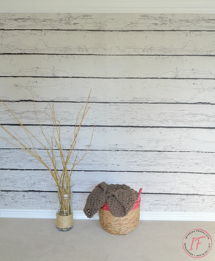 Faux Barnwood Photo Backdrop Wall