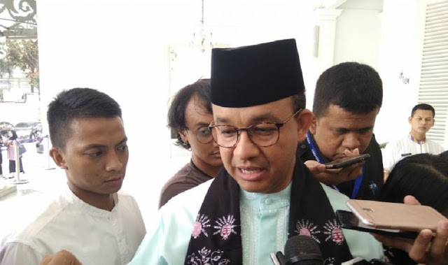 Anies Baswedan: Don't Come Down To The Street, Look On Television Only