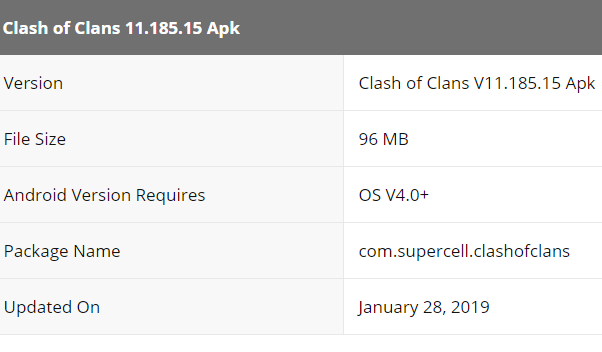Download Apk Clash of Clans 11.185.15 {Versi Terbaru} 2