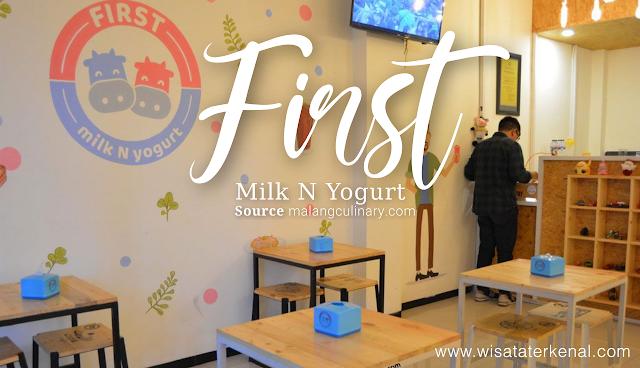 First Milk N Yogurt di Taman Bukit Sari Estate Malang