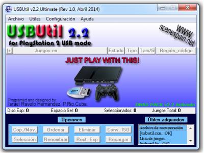 USBUTIL V2.00 GRATUITEMENT TÉLÉCHARGER