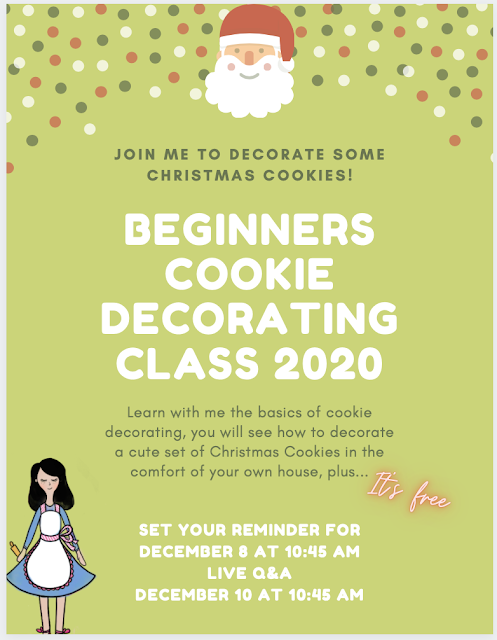 The Cookie Couture Cookie Decorating Class