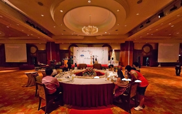 stage view 6 star hotel wedding klang valley