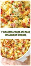 7 #Awesome #Ideas #For #Easy #Weeknight #Dinners #chickenrecipes #recipes #dinnerrecipes #easydinnerrecipes