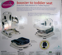 2 Mastela Booster to Toddler Seat