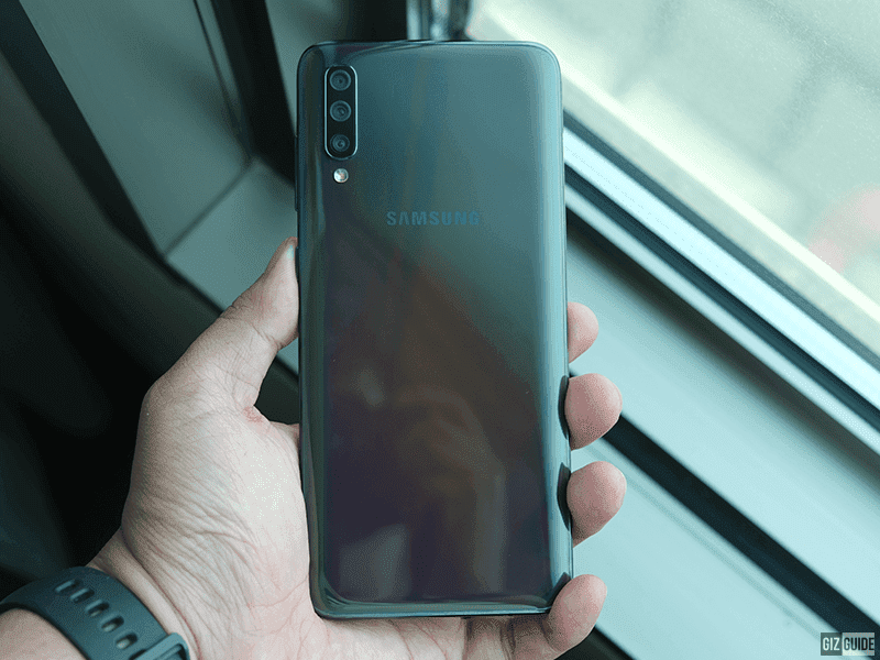 Samsung updates Galaxy A70 with Super Steady video mode