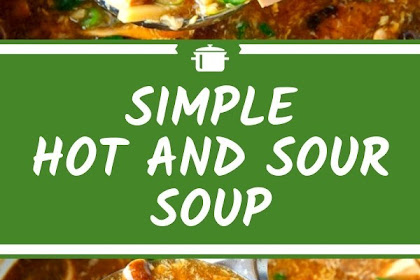 Simple Hot And Sour Soup