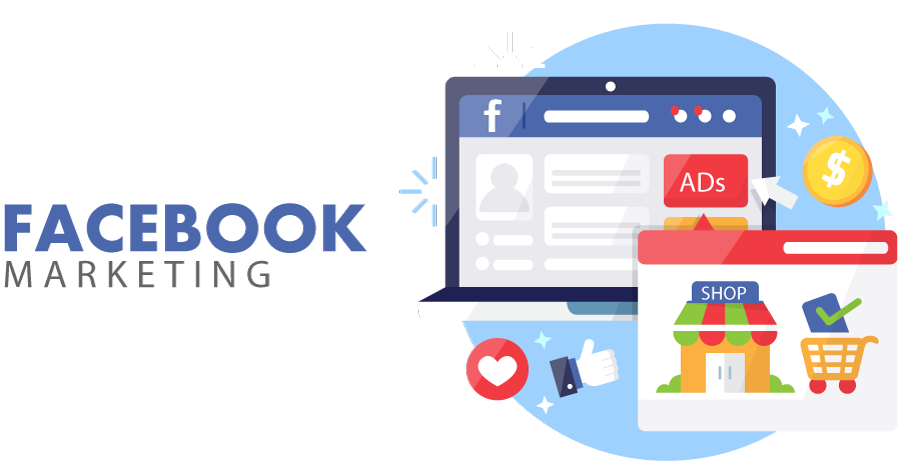 التسويق عبر الفيسبوك