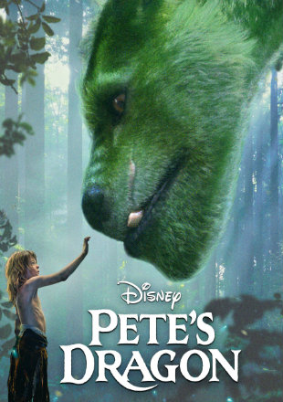 Pete's Dragon 2016 BRRip 300MB Hind Dubbed Dual Audio 480p Watch Online Full Movie Download bolly4u