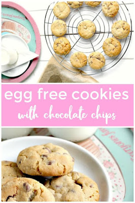 Egg Free Cookies with Chocolate Chips