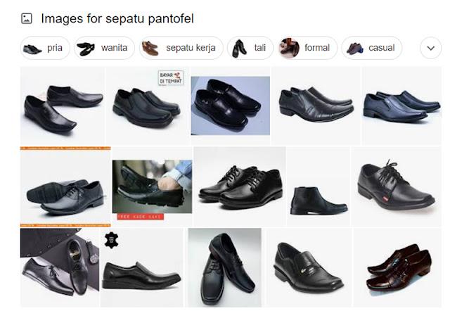 Sepatu Mengkilat