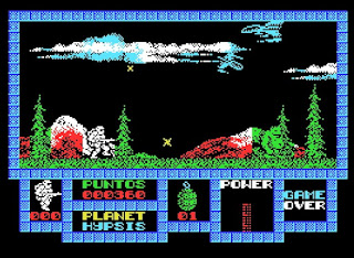 Game Over - MSX
