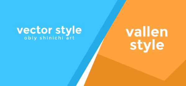 [Vallen Style] Gaya Vector Bebas Obiy Shinichiart
