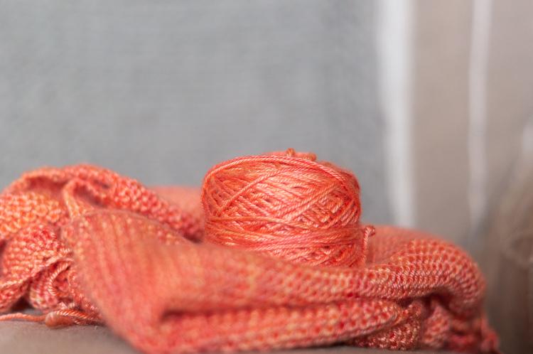 Châle Tiara, mon tricot du moment