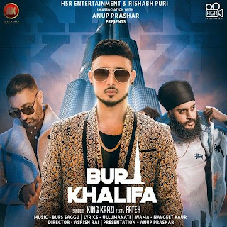 Burj Khalifa - Fateh, King Kaaz Song Lyrics Mp3 Audio & Video Download