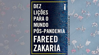 Capa do livro 10 lições para o mundo pós-pandemia