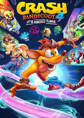Capa do Crash Bandicoot 4: It's About Time