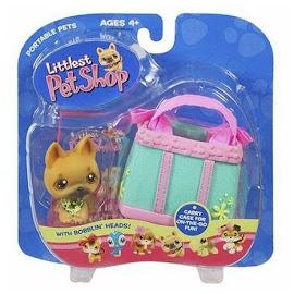 Littlest Pet Shop Portable Pets German Shepherd (#61) Pet