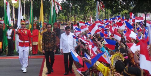 Rodrigo Duterte dan Jokowi