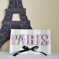Paris Decor by Over The Apple Tree