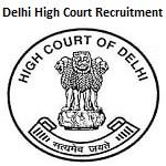 Delhi High Court Chauffeur Recruitment