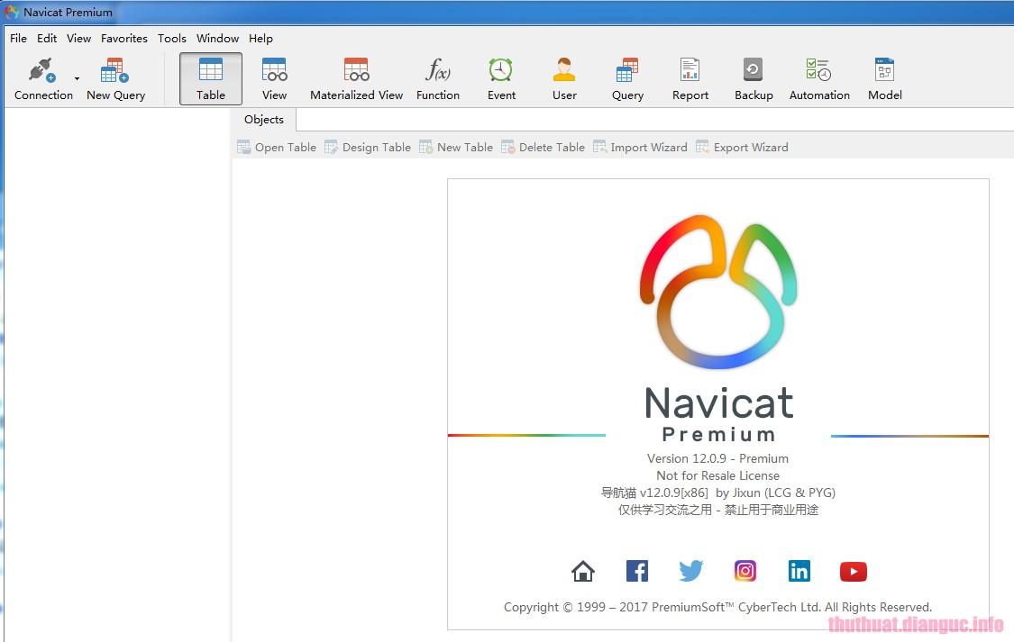 Download Navicat Premium 12.1.22 Full Crack