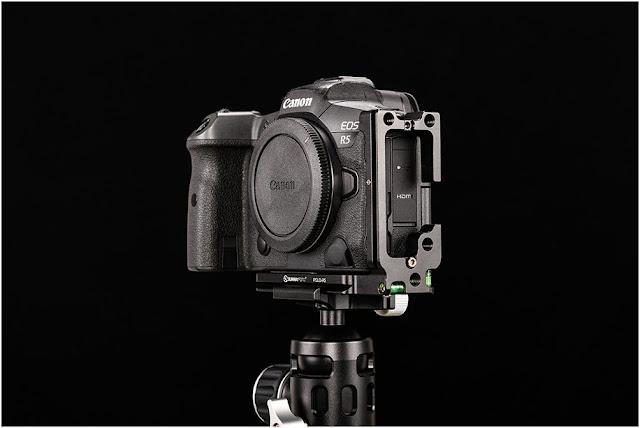 Sunwayfoto PCLO-R5 on Canon EOS R5 pic II
