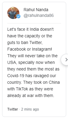 IS INDIAN GOVERNMENT BANNING FACEBOOK TWITTER INSTAGRAM? 2 DAYS LEFT