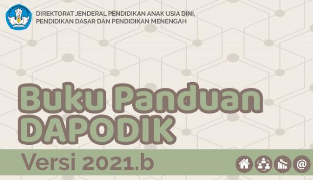 Download Panduan Aplikasi Dapodik Versi 2021.b