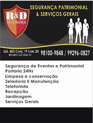 R & D SEGURANÇA