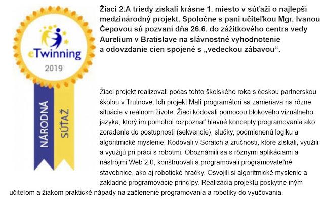 http://zshu.sk/index.php/projekty/e-twinning/item/1264-ziaci-2-a-zvitazili-v-narodnej-sutazi-etwinning-2019