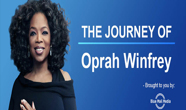 The journey of Oprah Winfrey #infographic