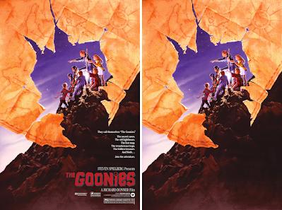 The Goonies Screen Print by John Alvin x Bottleneck Gallery x Justin Ishmael