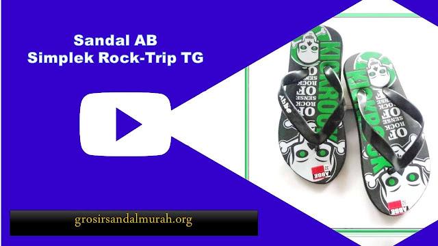 grosirsandalmurah.org-Sandal Anak TG-Sandal Rock Trip Simplek TG