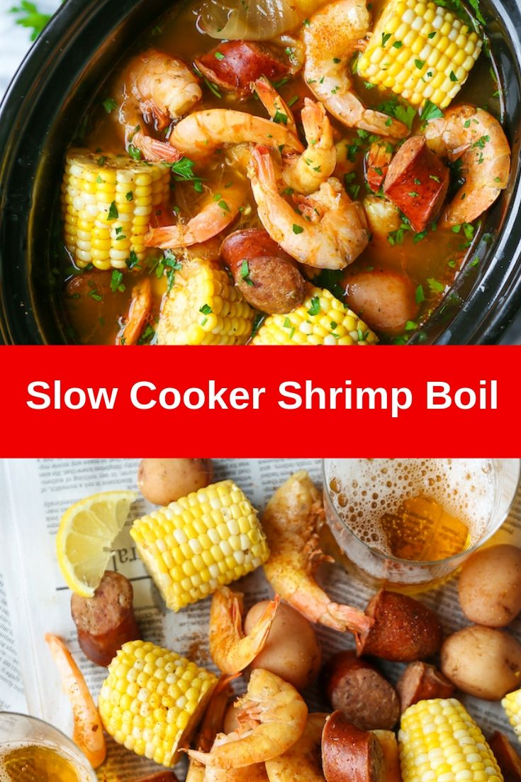 Slow Cooker Shrimp Boil Recipe