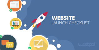 Checklist for launching your website site