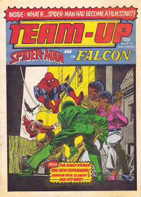 Team-Up #6, Spider-Man and the Falcon