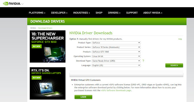 Install NVIDIA Display drivers on Ubuntu 18.04 LTS, Ubuntu 19 LTS, Ubuntu 20 LTS - Techzost blog