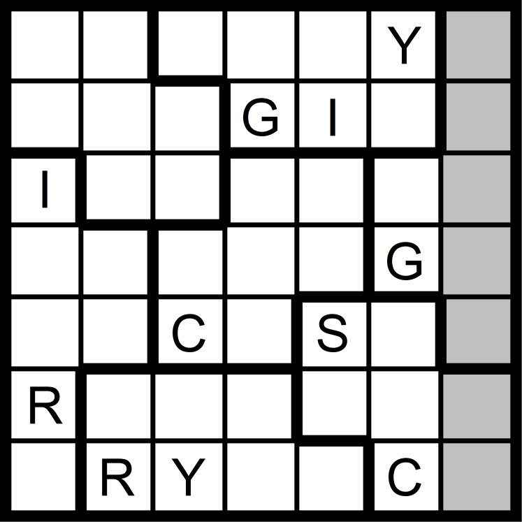 Magic Word Square: New Word Sudoku Puzzles for Friday, 4/6/2018