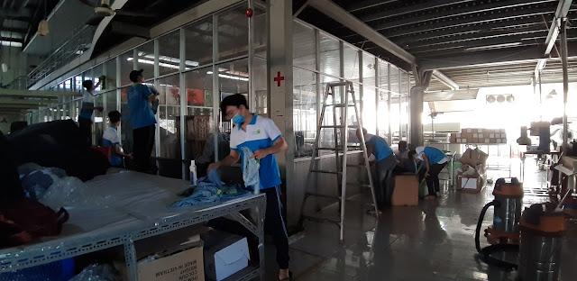 vệ sinh sạch sẽ nhà xưởng giúp tăng năng suất lao động