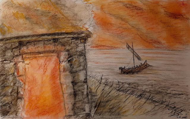 Los piratas fynnios atacan Iliria