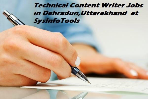 Technical Content Writer Jobs in Dehradun,Uttarakhand at