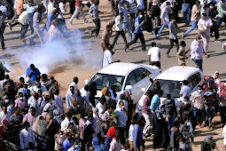 Sudanese Protesters Dispersed After Week of Rallies