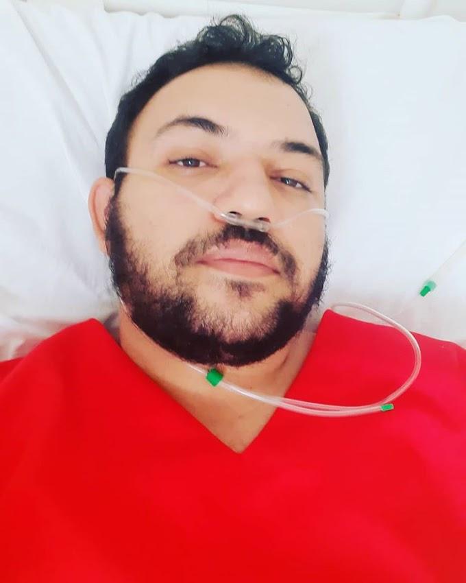 Enfermeiro Ayslon Paulino se recupera da Covid-19 e posta mensagem emocionante