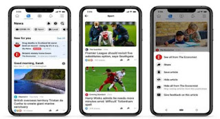 Facebook News launched in UK