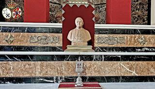 Una reliquia de San Manuel González será venerada en la Capilla de la Paloma durante el Año Santo decretado por el Papa Francisco
